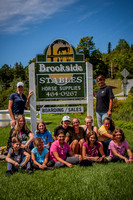 Brookside Stables Horse Camp 1 August 2012